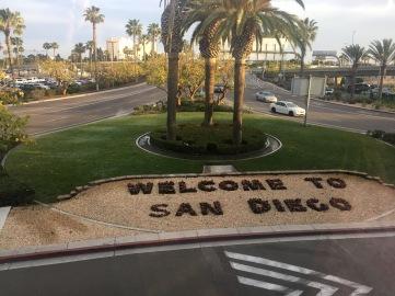 Flug nach San Diego