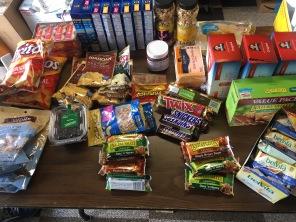 Essen auf den Pacific Crest Trail