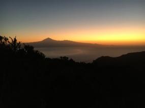 Sonnenaufgang mit Blick auf den Teide