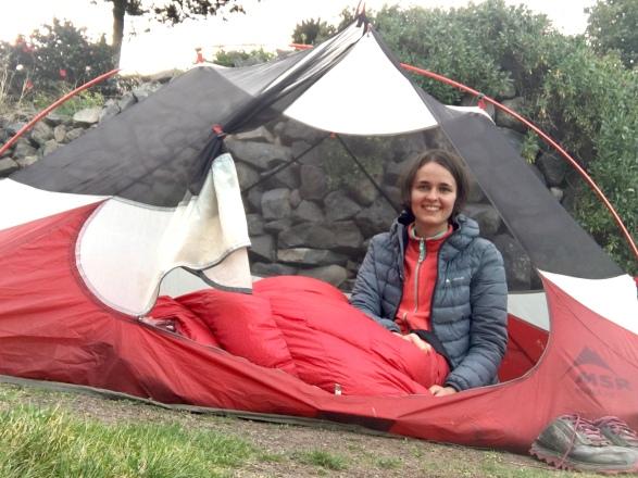Zelten auf dem Camino Natural (GR132) auf La Gomera