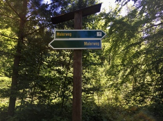 Wegweiser Malerweg